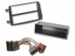 MERCEDES C Klasse Radio  Radioblende inkl. ISO Adapter