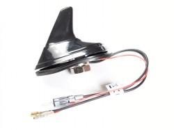 Shark Antenne DAB/FM aktiv mit DIN(M)/SMB(F) Stecker