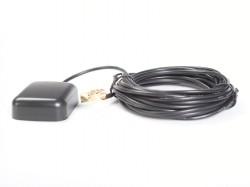 GPS Antenne für Innenmontage, 5m Kabel, SMA-Stecker 90 Grad