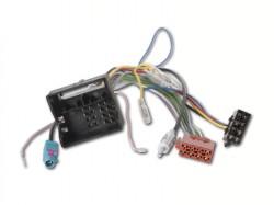 Radioadapter CITROEN, PEUGEOT mit Quadlockstecker + Phantomadapter - DIN
