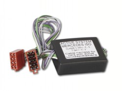Aktivsystemadapter MERCEDES mit ISO