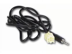 AUX Adapter ALFA ROMEO, LANCIA, FIAT ab 2007 Mini ISO gelb - Klinke