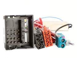 Radioadapter AUDI  Quadlock - ISO + Antennendiversity 2 x FAKRA - DIN