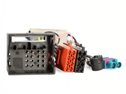 Radioadapter AUDI  Quadlock - ISO + Antennendiversity 2 x FAKRA - ISO