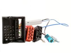 Radioadapter AUDI  Quadlock - ISO + Phantomadapter FAKRA - DIN
