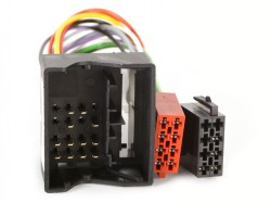 Radioadapter RENAULT mit Quadlock auf ISO