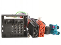 Radioadapter + Phantomadapter VW mit Antennendiversity/Quadlock - ISO