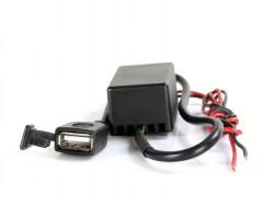 USB Ladeanschluss 12-24V Input und 5V max. 2,1A Output