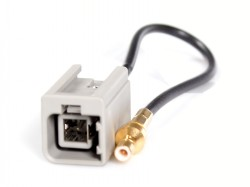 Antennenadapter  GT5 (M) GRAU 1PP - SMB (M)