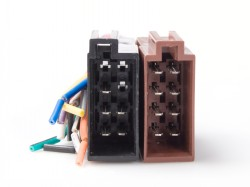 ISO Buchse Strom - Lautsprecher auf offene Enden
