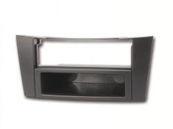 Radioblende MERCEDES E-Klasse(W211) 2002-09 2DIN+Fach schwarz