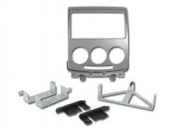 Radioblende MAZDA 5 ab 2005-10 2DIN silber Installer Kit