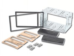 Radioblende NISSAN Qashqai 2007-13 2DIN Installer Kit