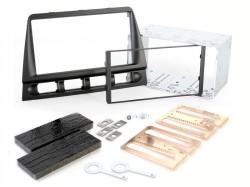 Radioblende KIA Picanto 2005-08 2DIN schwarz Installer Kit