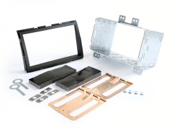 Radioblende HYUNDAI i20 ab 2012 2DIN schwarz Installer Kit