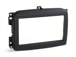 Radioblende FIAT 500 L ab 2012 2DIN schwarz