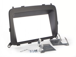Radioblende KIA Carens ab 2013 2DIN schwarz Installer Kit