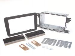 Radioblende SKODA, VW Profi Installer Kit 2DIN schwarz