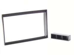 Radioblende NISSAN Micra K12  ab 2003-10 2DIN schwarz