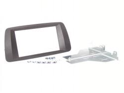 Radioblende SEAT Ibiza bis 2014 2DIN schwarz-anthrazit Installer Kit