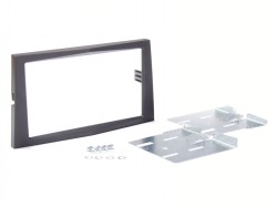Radioblende OPEL Astra H, Zafira 2DIN schwarz Installer Kit