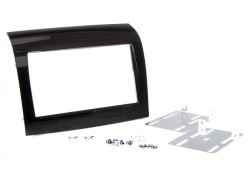 Radioblende FIAT Ducato ab 2015 2DIN piano black Installer Kit