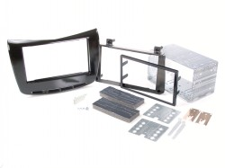 Radioblende LANCIA Delta ab 2014 2DIN piano black Installer Kit