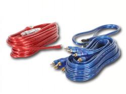 Kabelset 10qmm für 4 Kanal Verstärker