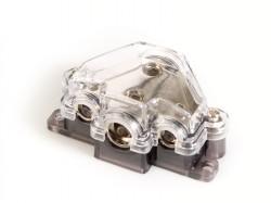 Stromverteilerblock  1 x 35qmm + 1 x 20qmm + 2 x 10qmm