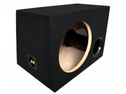 Leergehäuse 48 l bassreflex aus MDF mit Filz+Terminal+Rohr für 30er Subwoofer