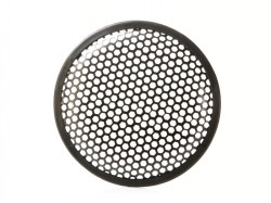 Lautsprechergitter für 8 - 20cm Lautsprecher, Wabe, Sechsecklochung