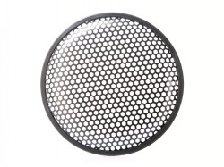 Lautsprechergitter für 10 - 25cm Lautsprecher, Wabe, Sechsecklochung