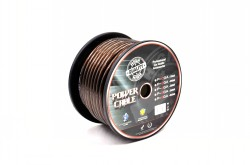 Rolle 20qmm/4GA Kabel schwarz 30m CCA