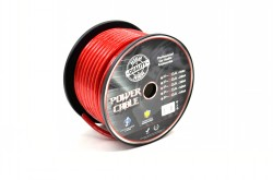 Rolle 20qmm/4GA Kabel rot 30m CCA