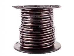 Stromkabel 10qmm Rollenware schwarz KUPFER