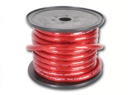 Stromkabel 35qmm Rollenware rot CCA