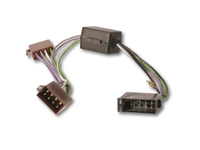 Aktivsystemadapter AUDI, VW Aktivsysteme mit 10-pol ISO Anschluß