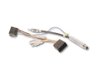 Phantomeinspeisung   AUDI, SEAT, SKODA, VW auf DIN + ISO Strom 15/30 steckbar