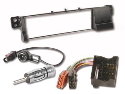 BMW 3er E46  Radioblende inkl. ISO Adaper Antennenadapt