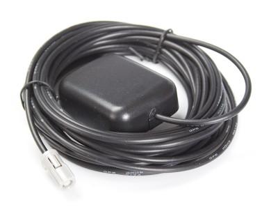 GPS Antenne für Innenmontage, 5m Kabel, HRS (z.B. PIONEER AVIC)