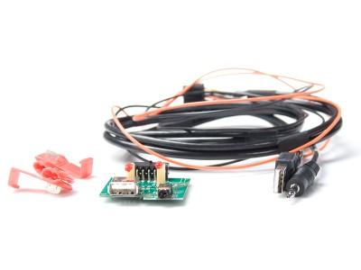 USB/AUX Replacement HYUNDAI, KIA mit roten LED