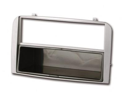 Radioblende ALFA ROMEO 147, GT 2000-10 2DIN mit Fach silber