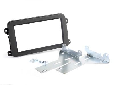 Radioblende SKODA, VW 2DIN schwarz Profi Installer Kit