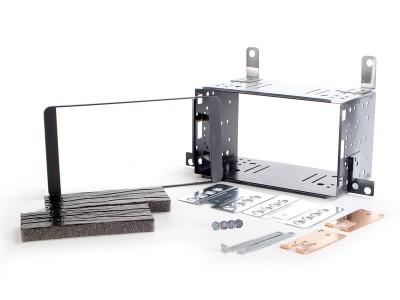 Radioblende SUBARU Justy II ab 2008 2DIN schwarz Installer Kit