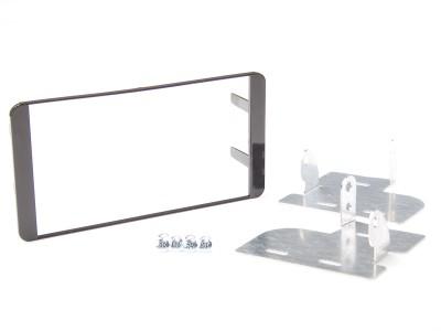 Radioblende SUBARU BRZ ab 2012 2DIN schwarz Installer Kit